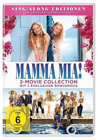 Amazoncom Mamma Mia 2 Movie Franchise Boxset Movies Tv