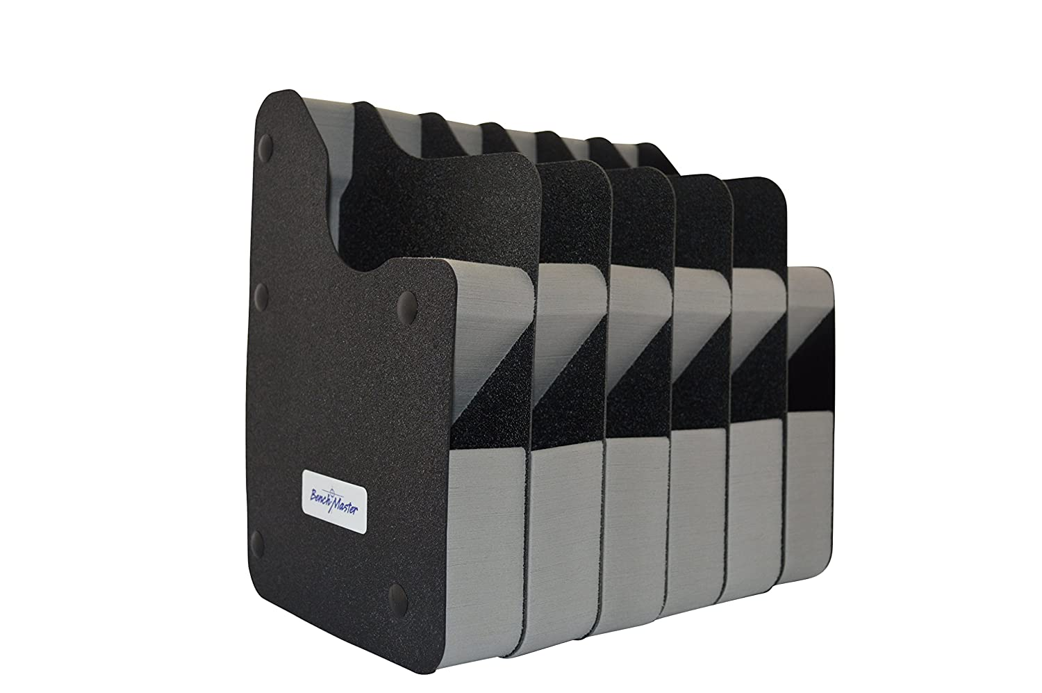 BenchMaster Weapon Rack - Eight (8) Gun Vertical Pistol Rack - Gun Safe Storage Accessories - Gun Rack