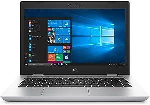 HP ProBook 640 G4 Notebook PC (3XJ63UT#ABA) Intel i5-8250U, 8GB RAM, 500GB HDD, 14-inch HD SVA, Win10 Pro,Natural Silver