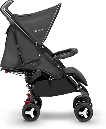 Silver Cross Reflex Stroller, Compact and Lightweight Pushchair – Onyx