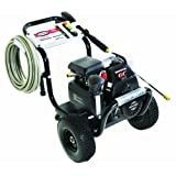 SIMPSON Cleaning MSH3125-S 3100 PSI at 2.5 GPM Gas Pressure Washer Powered by HONDA with OEM Technologies Axial Cam Pump