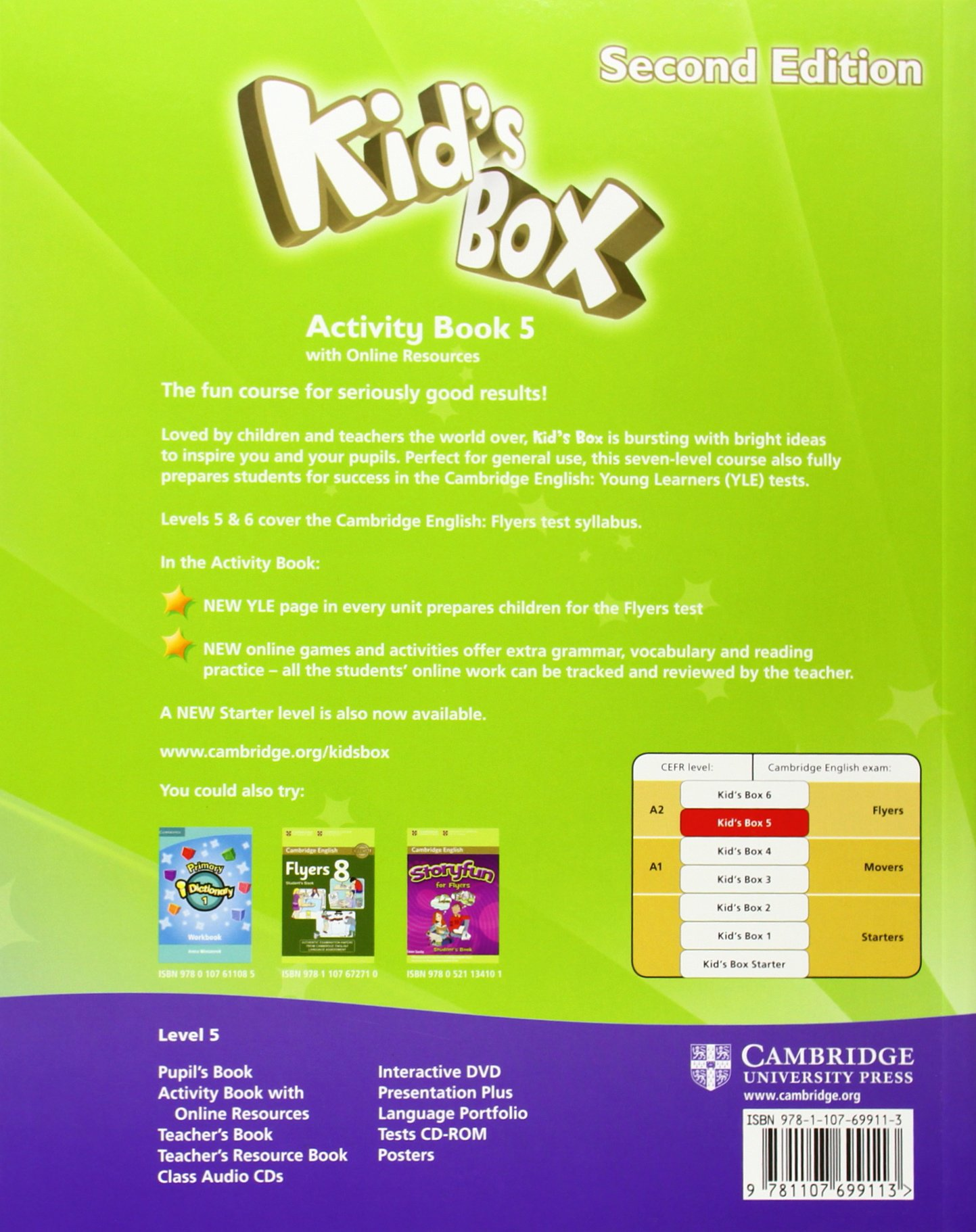 Kid's Box Level 5 Activity Book with Online Resources - 9781107699113:  Amazon.es: Caroline Nixon, Michael Tomlinson: Libros en idiomas extranjeros