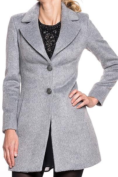 Kocca - Cappotto - trench - Donna Grau XL  Amazon.it  Abbigliamento 0ff78fd6cba