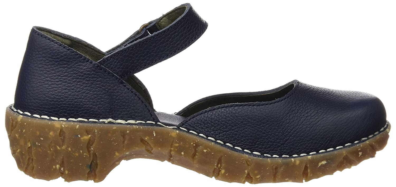 El Naturalista Damen Damen Damen Ng50 Soft Grain Yggdrasil Hohe Absätze mit Geschlossener Spitze Blau (Ocean) 2c0ddb