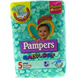Pampers - Baby Dry - Pañales - Talla 5 (11-25 kg) -