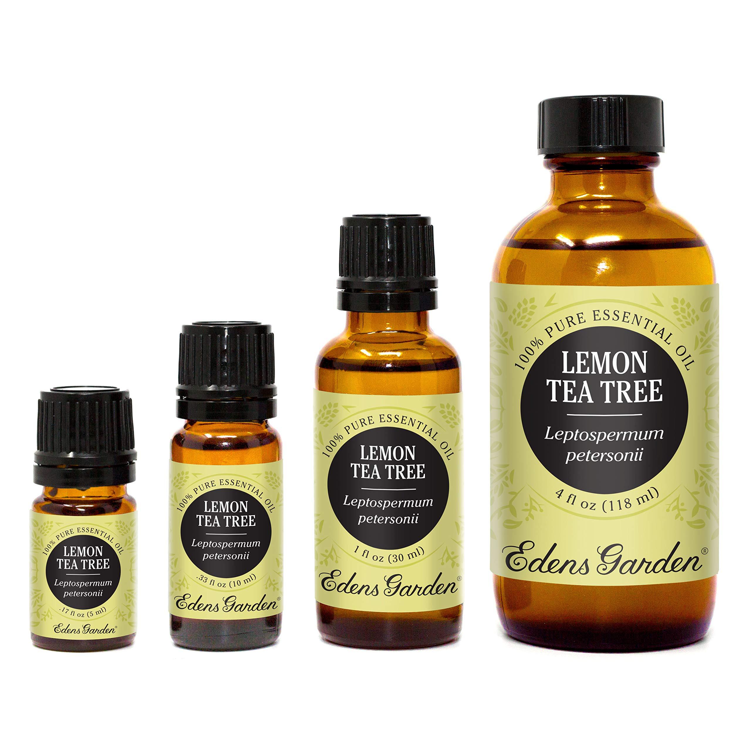 Edens Garden Lemon Tea Tree 100% Pure Therapeutic Grade Essential Oil, 30 mL
