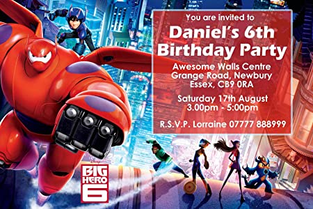 Image Unavailable Not Available For Colour Big Hero 6 Birthday Party