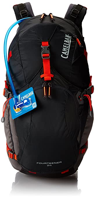 Amazon.com : Camelbak 2016 Fourteener 24 Hydration Pack, Charcoal ...