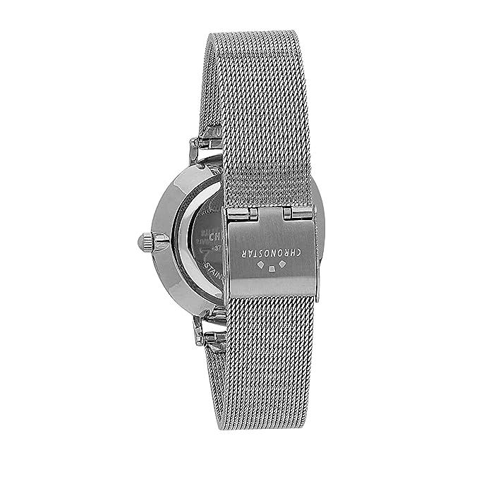 Armband Quarz Mit Edelstahl Chronostar R3753252503 Uhr Damen Analog XOkuZiP