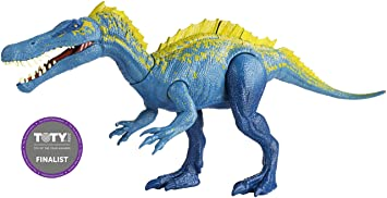 Jurassic World FVJ94 Action Attack Suchomimus, Multi-Colour