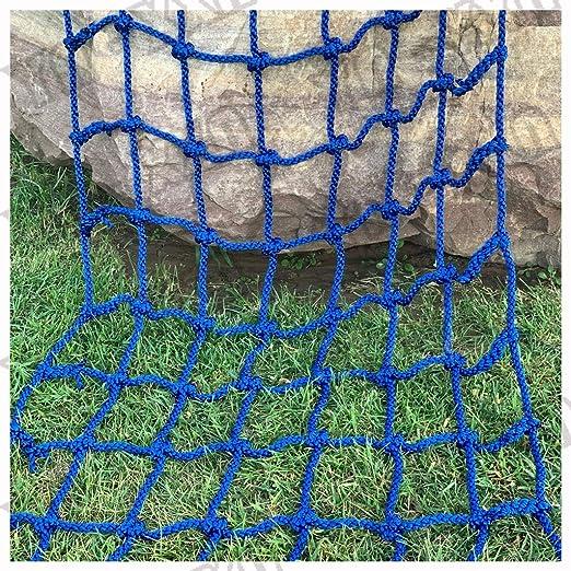 Redes de Cuerda, red de Protección de Jardín de Escalera de Columpio de Árbol Para Niños Hipódromo Valla de Carga Fija Coche de Carga Pesado Redes de Cubierta Barandilla Escaleras Gato Red