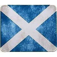 Scotland Flag Mouse Pad,Retro Style Scotland Flag Mouse Pad by VIVIPOW(TM)