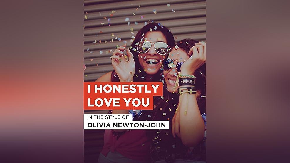 """I Honestly Love You im Stil von """"Olivia Newton-John"""""""