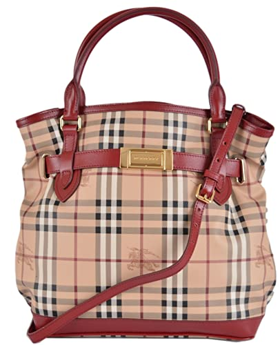 40c61e4c7028 Amazon.com  Burberry Women s Haymarket Nova Check Crossbody Hobo Purse   Shoes