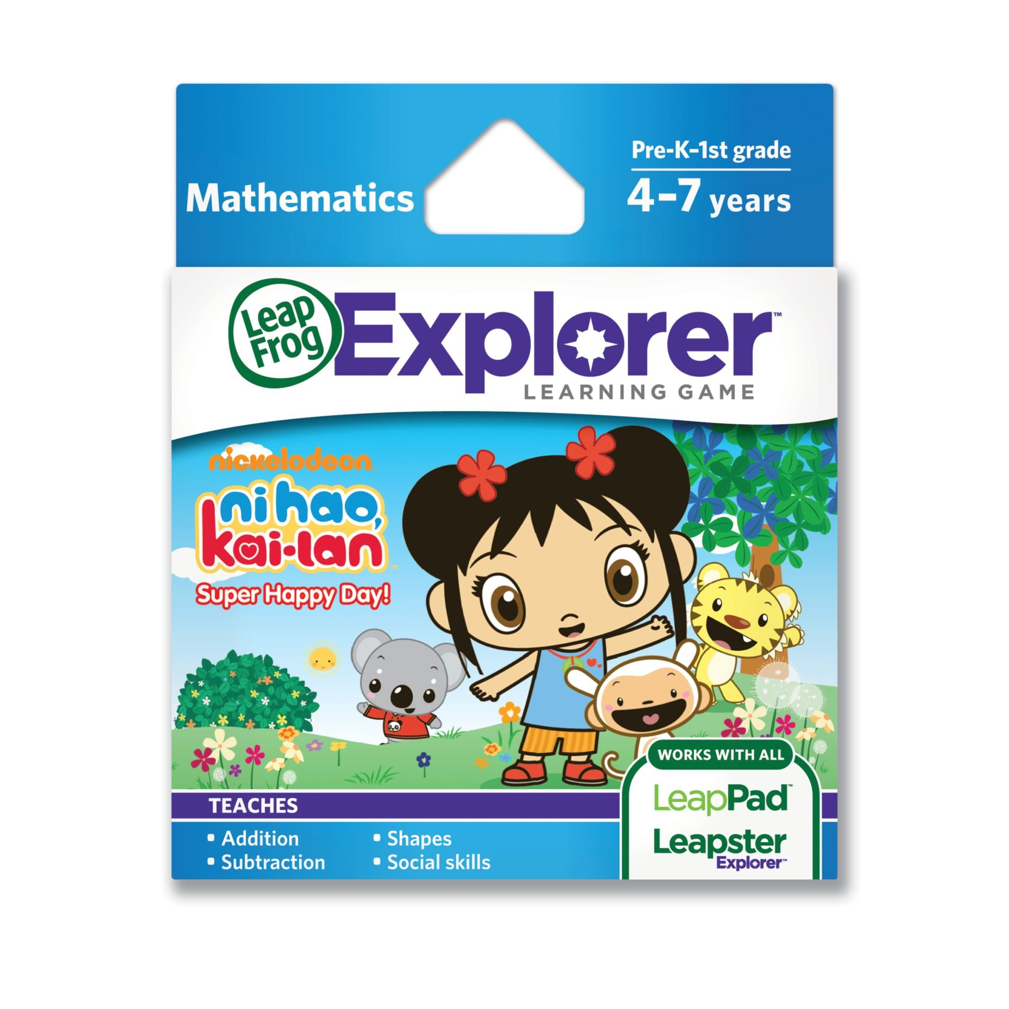 LeapFrog Ni Hao, Kai-lan: Super Happy Day!  learning game(works with LeapPad Tablets  and LeapsterGS by LeapFrog