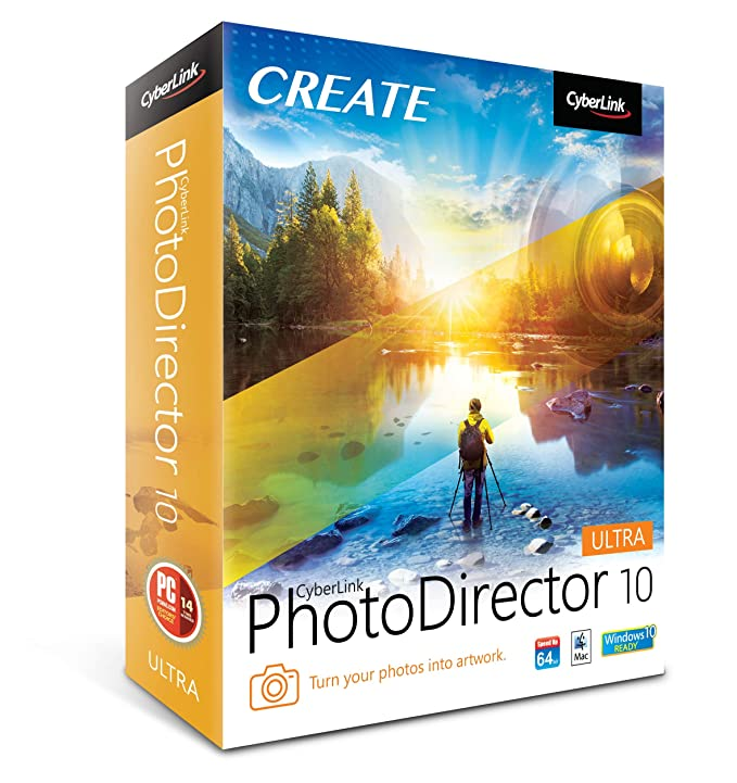 Amazon com: Cyberlink PhotoDirector 10 Ultra [PC Download