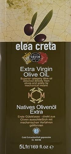 Elea Creta Extra Virgin Greek Olive Oil 5lt Tin can