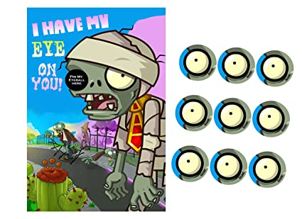 Silly Goose Gifts Pvz Party Game I Have My Eye On You Zombie