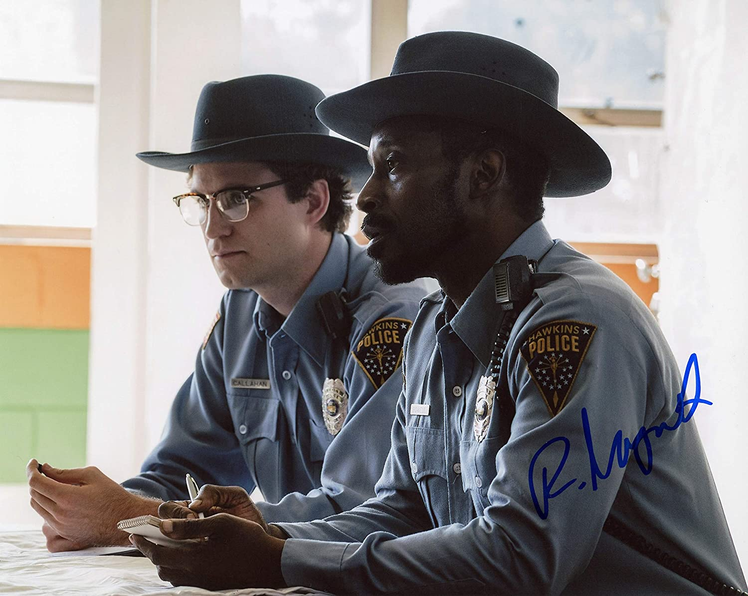 Rob Morgan Stranger Things Autograph Signed 8x10 Photo Acoa At Amazon S Entertainment Collectibles Store