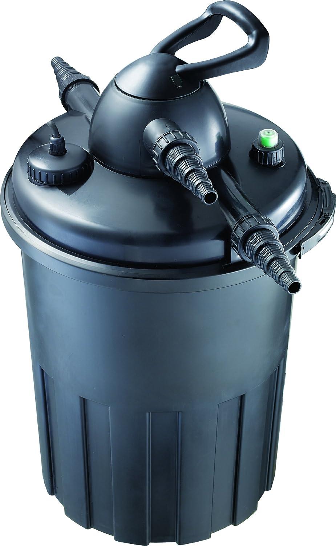 OSAGA Druckfilter OPF-15000 mit UVC Klärer und Rückspülung für Fisch und Gartenteich
