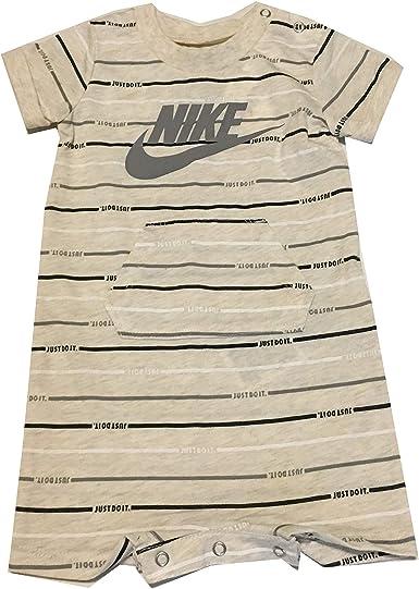 Nike Infant Boys Romper Pale Ivory Size