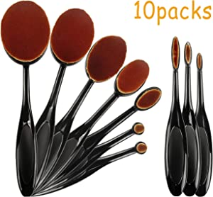 10 Pack Crafting Ink Blending Brushes Set Brush for Blending Paper Crafter