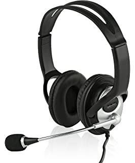 amazon senicc a6 stereo gaming headset with microphone usb led Skullcandy Earbud Wiring-Diagram sonitum usb headset for puter chat skype webinar call center headphone