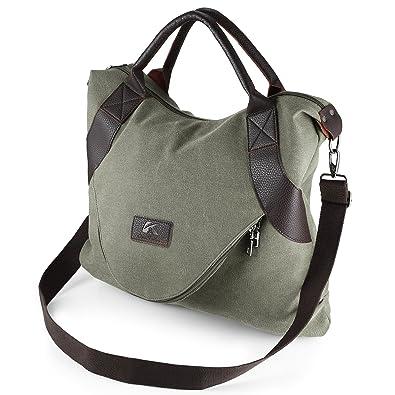 add270afd890 AIZBO Canvas Shoulder Bag for Women
