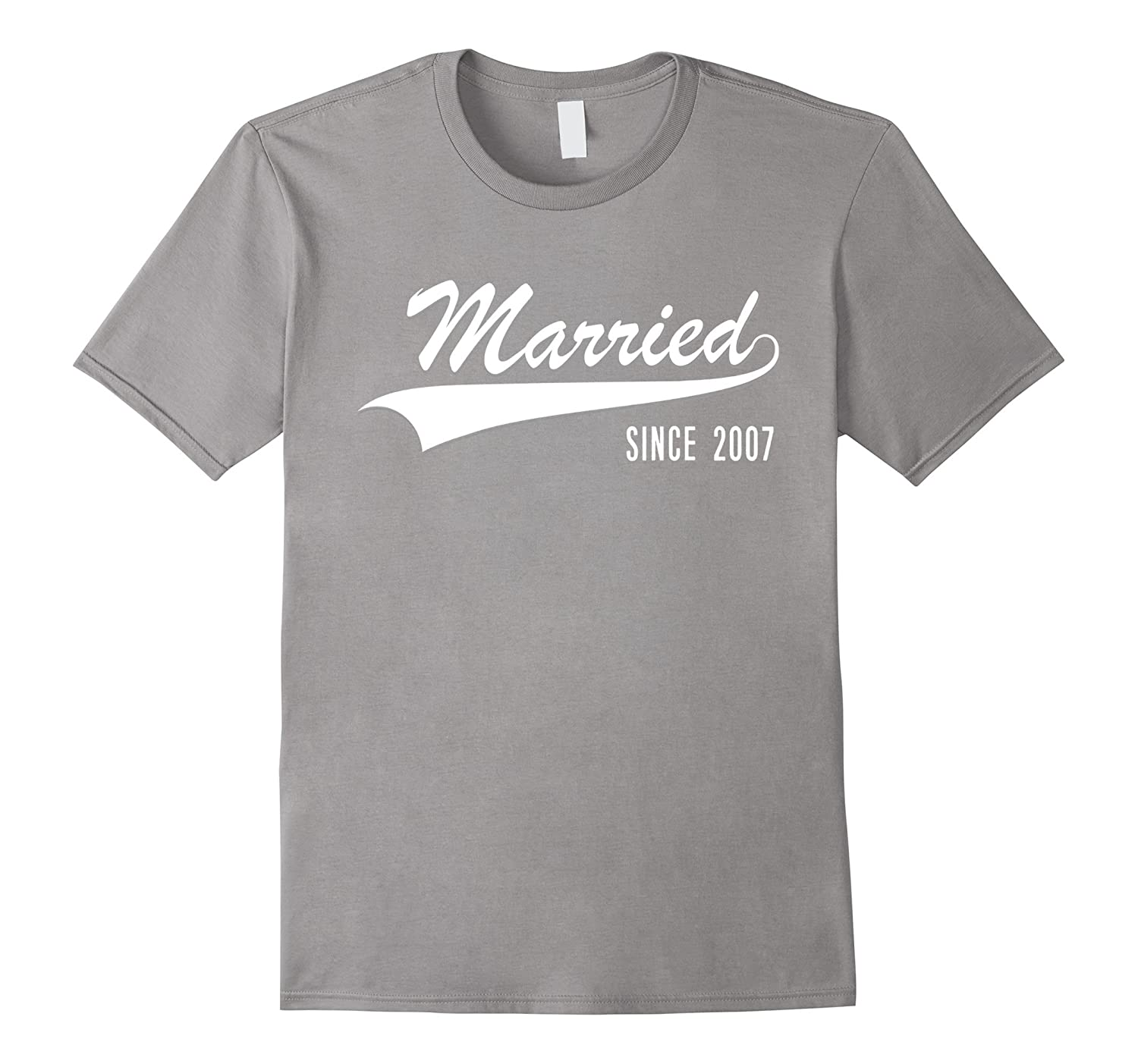 10th Wedding Anniversary gift shirt Married since 2007 shirt-PL