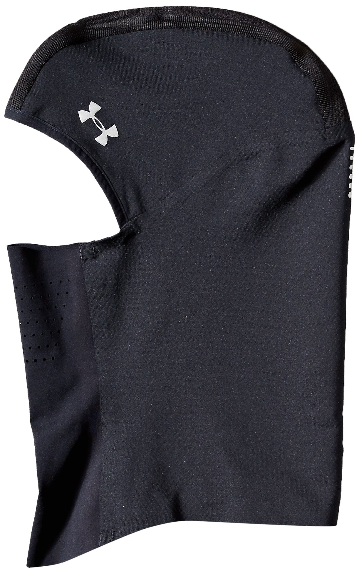 Under Armour Women's Reactor Run Balaclava, Black (001)/Silver, One Size