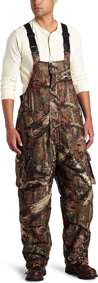 Yukon Gear Men S Reversible Insulated Bibs Mossy Oak Break Up To Blaze Orange X Large Amazon Co Uk Clothing