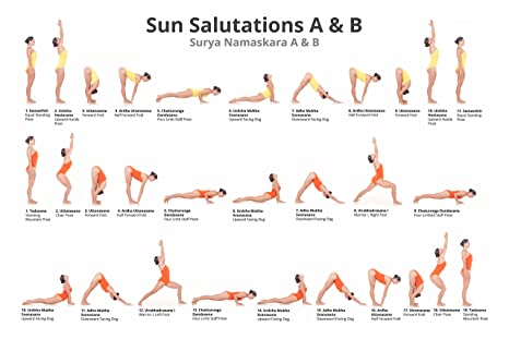 Amazon.com: Beautiful Yoga Poster 24x36: Posters & Prints