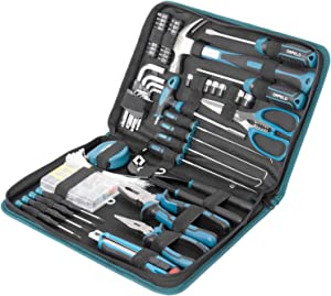 ORFELD Tool Set,201-Piece Tool kit, Household Tool Kit with Easy Carrying Pouch, Perfect for DIY Projects and Home Repair Maintenance