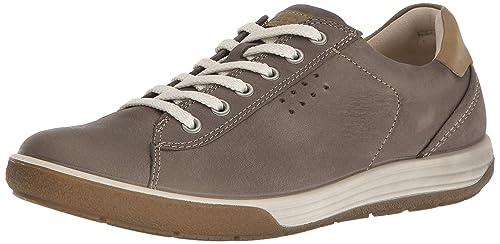 shoes Amazon Chase top Ecco Ii Low Sneaker Pelle Grigio wPNkZ8n0OX