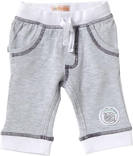 Noppies - Pantalones blanco de 95% algodón, 5% elastano, talla: 56cm (0-3 meses): Amazon.es: Bebé