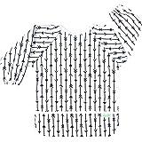 Wegreeco Baby Long Sleeve Bib, Toddler Children's Leak-Free Baby Bib with Sleeves (Grey Arrow),Washable/Lightweight…
