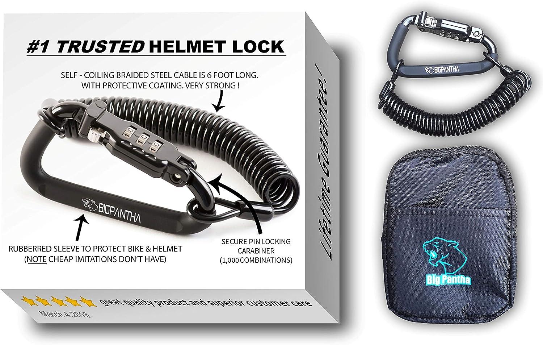BigPantha Motorcycle Helmet Lock
