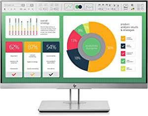 HP EliteDisplay E223 21.5-Inch Screen LED-Lit Monitor Silver (1FH45AA#ABA)