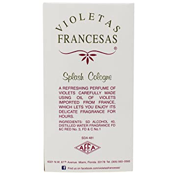 Amazon.com: Violeta Francesa Splash Children and Adult Cologne: Health & Personal Care
