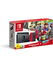 Nintendo Switch, Joy con Rossi e Super Mario Odyssey (Digital Download) - Limited Edition