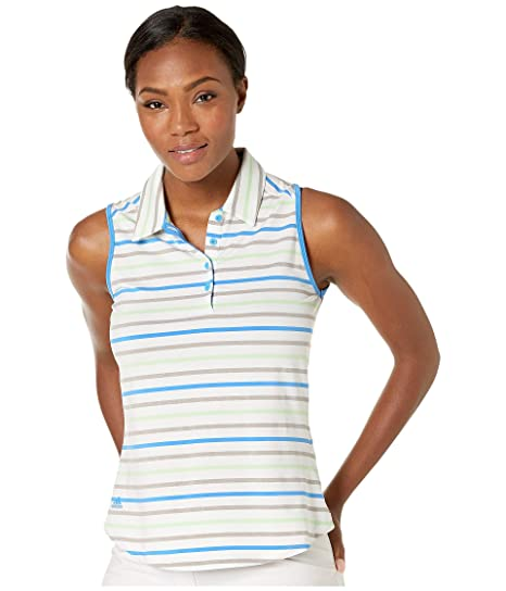 adidas Ultimate Stripe - Polo sin Mangas para Mujer, Mujer, Color ...