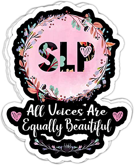 Perfect for laptop or notebooks Speech Pathologist Stickers SLP