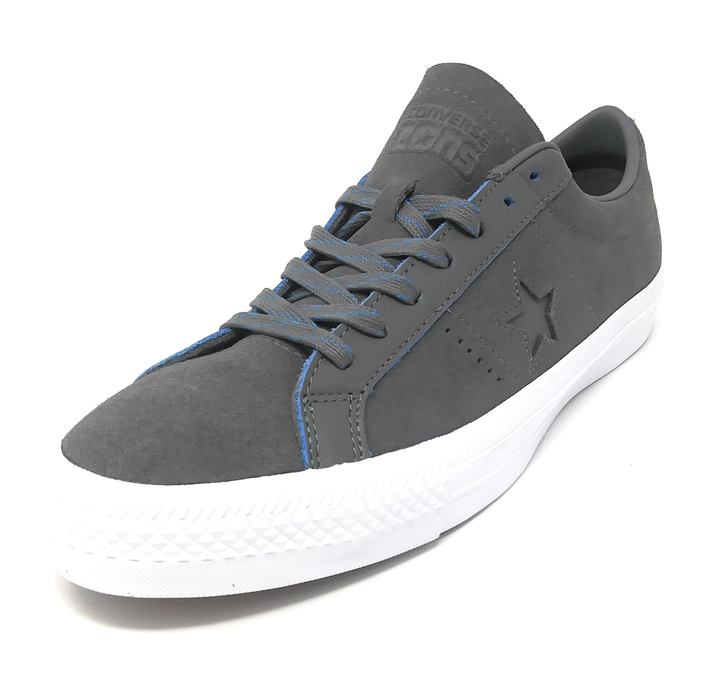 5b7eeea780e6 Galleon - Converse One Star Pro OX Charcoal Grey Soar White (10 Mens 12  Womens)