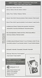 /Logbuch Einlagen wei/ß IQ Logbuch Refill L 1/Dive Per Page/