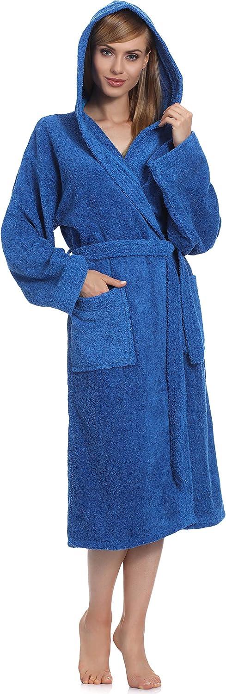 Ladeheid Peignoir de Bain /Éponge 100/% Coton Femme LA40-102