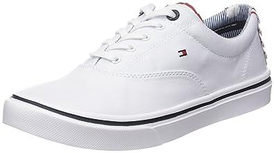 Tommy Hilfiger Textile Light Weight Sneaker, Sneakers Basses Femme, (Dusty 502), 36 EU