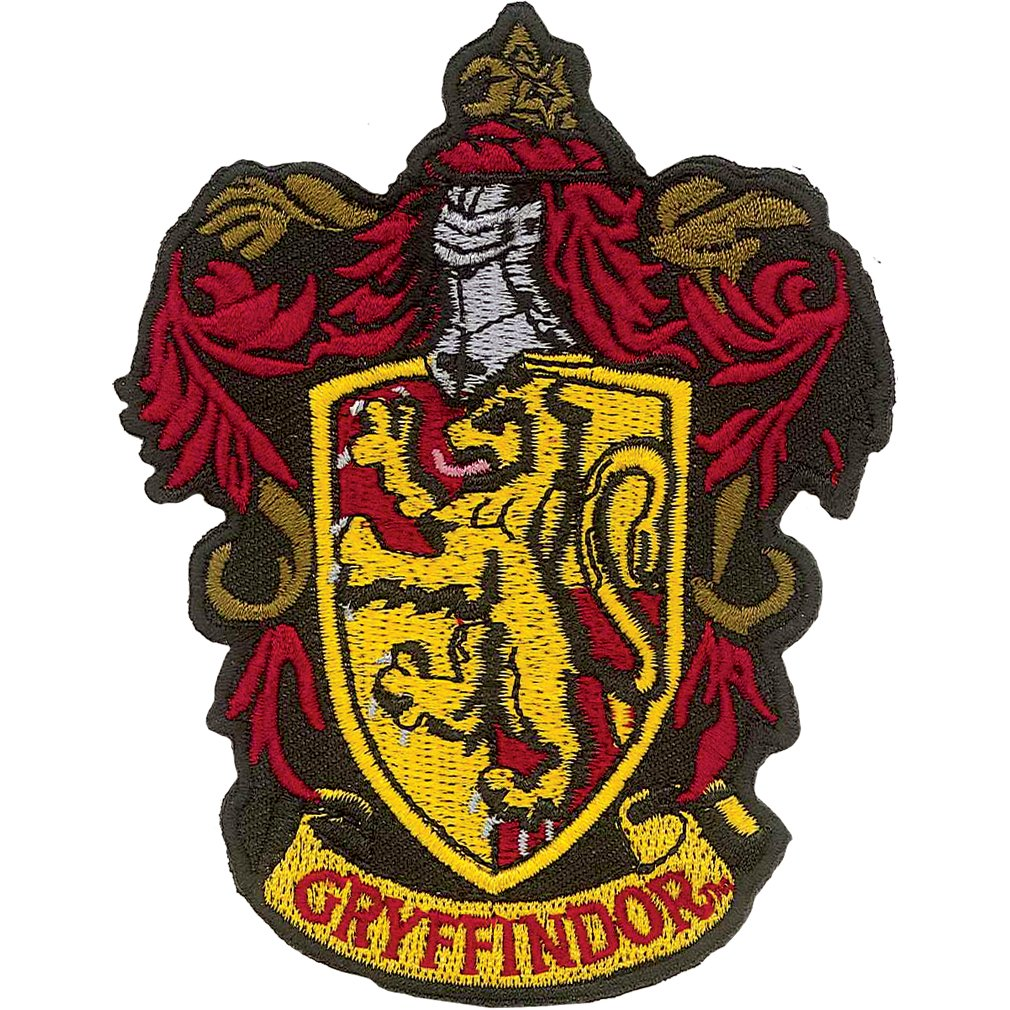 Harry Potter Gryffindor Iron On Patch Ata-Boy Inc. 61008HP