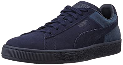 Puma Suede Classic Casual Emboss, Unisex Adults Low-Top Trainers, Blue  (Peacoat