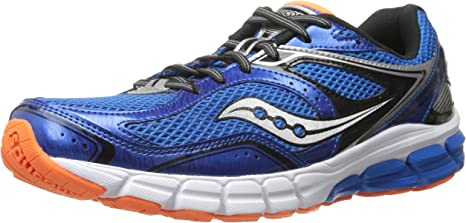 Zapatillas de running Lancer para hombre, Royal / Black / Orange ...