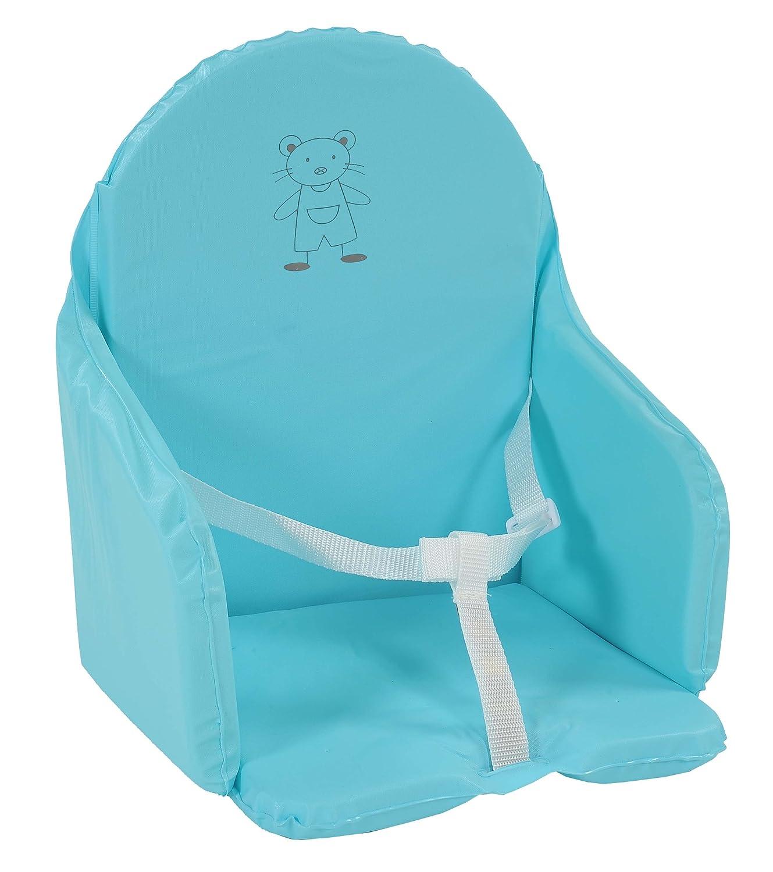 Looping - Cojín para asiento con correas Multicolor Bleu lagon ...